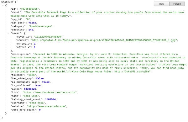 JSON Formatter Chrome Extension In Effect