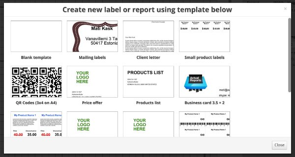 Getting Started to create Printable QR Codes