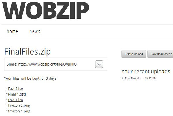 Unzip Files Online