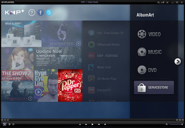 using kmplayer to play passive 3D movies