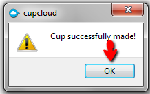 CupCloud-Cup-Successfully-made-OK