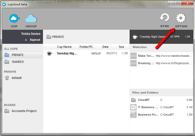 Cupcloud-Option-icon-access