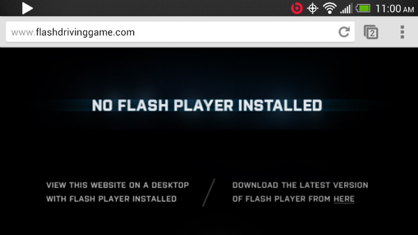 Flashify Error