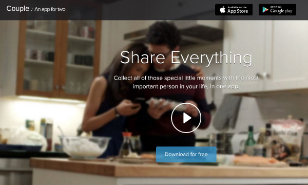 Couple Private Social Network