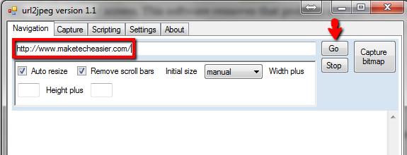 URL2JPEG-Navigate-to-particular-website