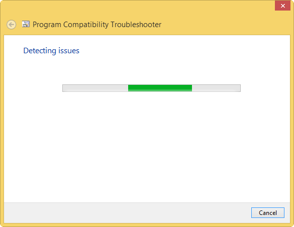 detecting issues in compatibility mode