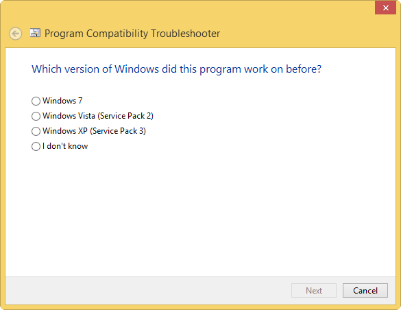 program-version-troubleshooting
