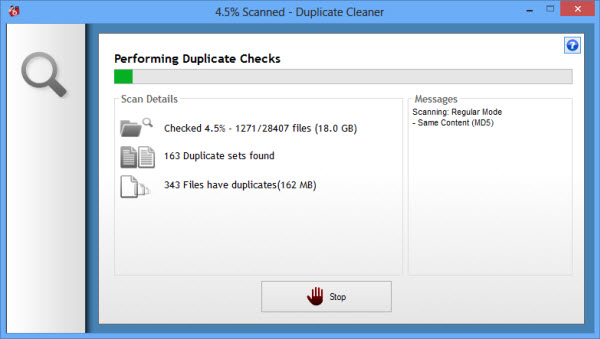 duplicate_cleaner_checking