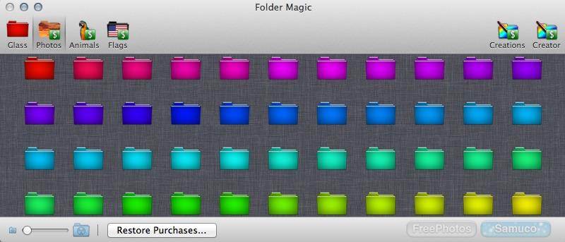 Create Custom Folders for Your Mac with Folder Magic
