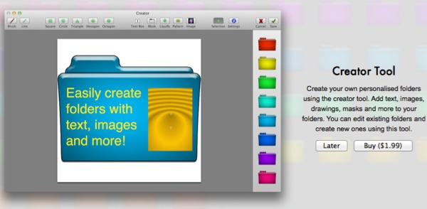 Folder Magic includes vital in-app purchases such as for a useful Creator Tool.