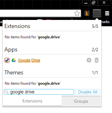 searching-SimpleExtManager