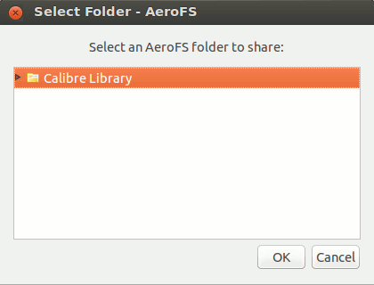 aerofs-share-folder