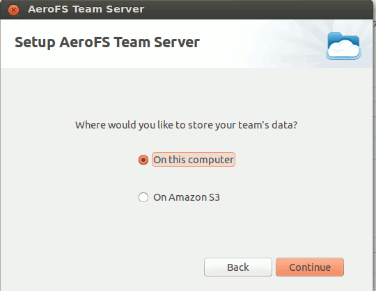 aerofs-team-server-storage-location