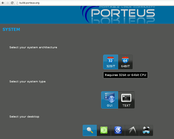 porteus-download-wizard