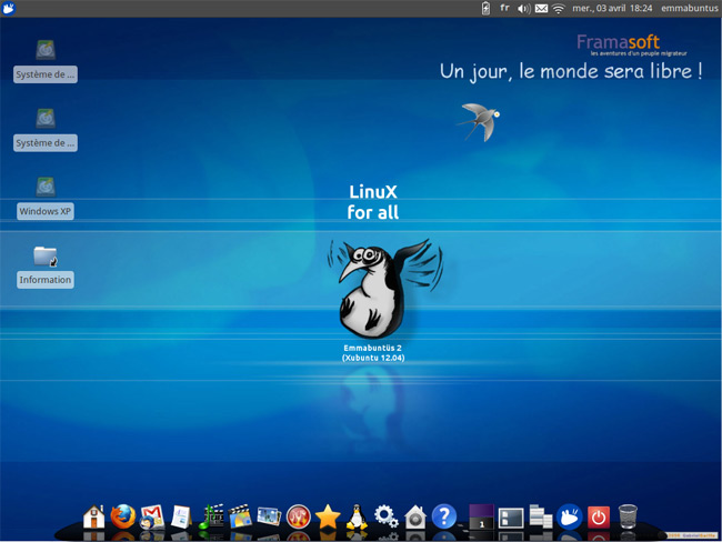 Emmabuntüs desktop