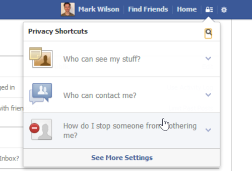 how to search posts by friends on new facebook
