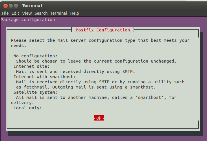 mailutils-configure-postfix