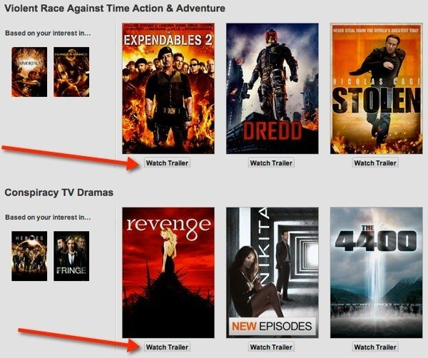 This Chrome Extension adds a 'Watch Trailer' button to Netflix.