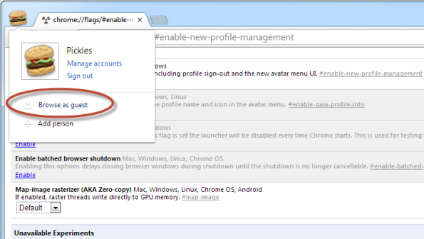 Chrome-Guest-Browsing-Enable