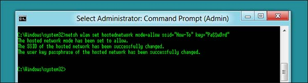 PC Router - Command Prompt Enter 1