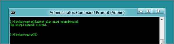 PC Router - Command Prompt Enter 2