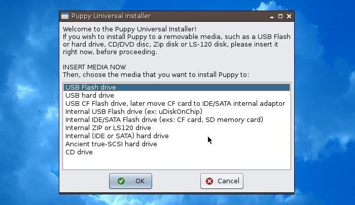 Simplicity Linux - uni installer