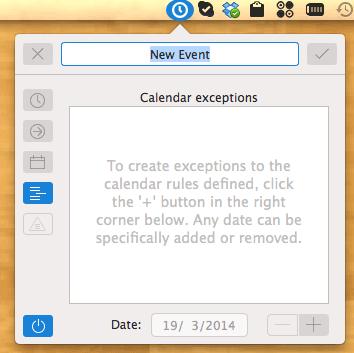 clockwise-calendar-exception
