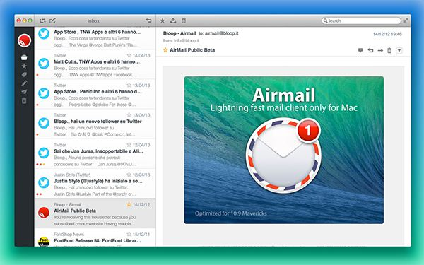 best email clients for mac - airmail