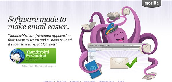 best email clients for mac - thunderbird