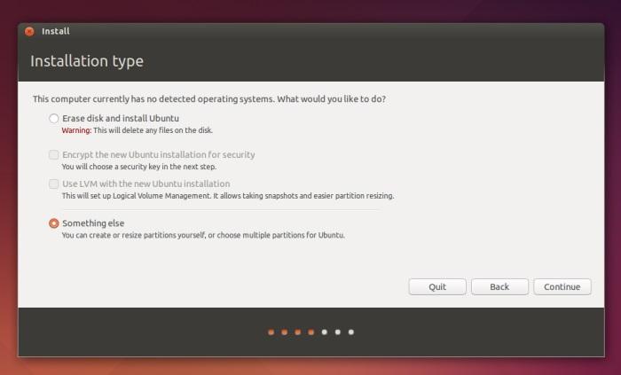 ubuntu and fedora - something else