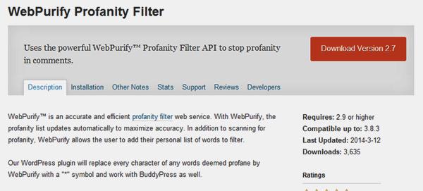 webpurify-profanity