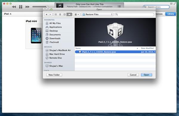 Downgrade-iOS8-to-iOS7-Select-IPSW