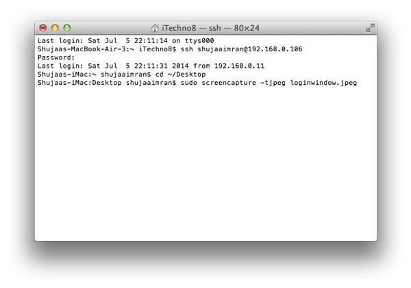 Remote-Login-Mac-Second-Command
