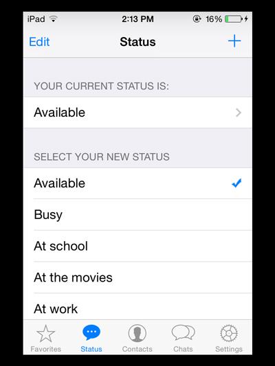 WhatsApp-iPad