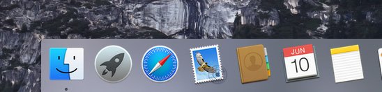 Yosemite-Mavericks-UI-Comparison-Dock-Yosemite