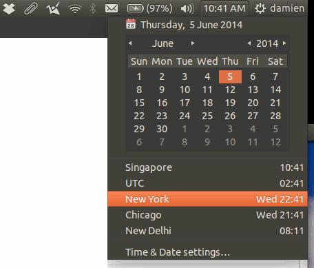 ubuntu-view-timezone-clock-applet