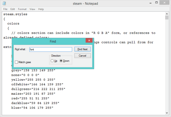 Steam-Style-Notepad
