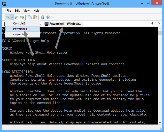 console2-powershell-in-console2