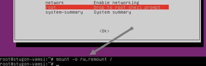 reset-ubuntu-password-enable-write-permissions