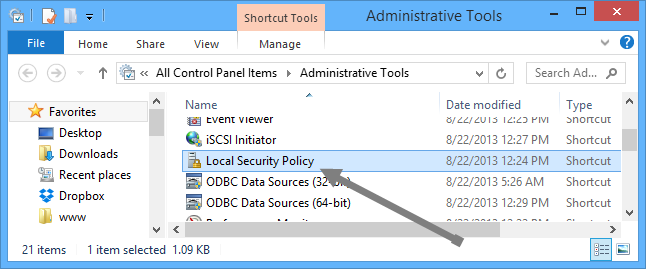 temporarily-lock-windows-select-local-sec-policy