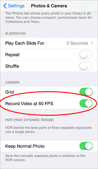 60fps-iPhone6-Enable-Toggle