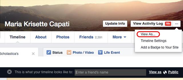 Facebooktips-viewasprofile