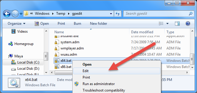 enable-gpedit-select-edit