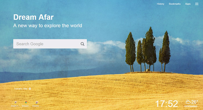 new-tab-extensions-dream-afar