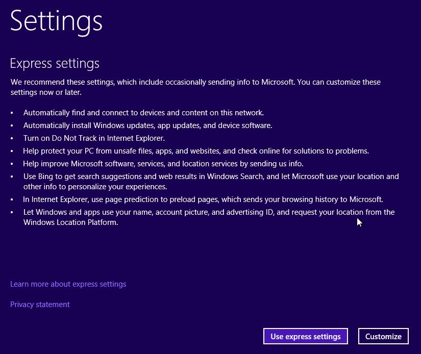 windows-10-tech-preview-express-settings