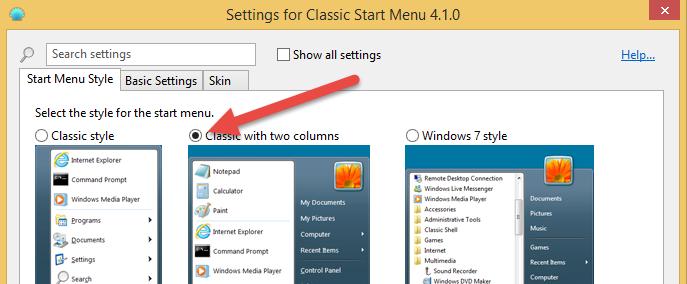 windows-xp-look-classic-start-menu