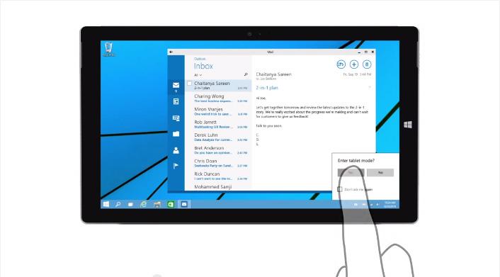 Windows10-continuum