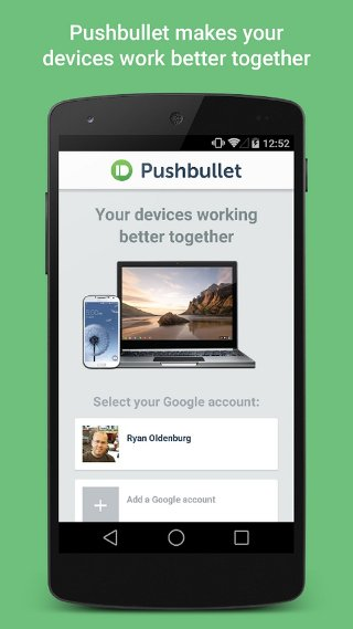 PushBullet Android App