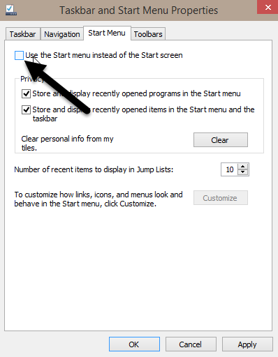windows-10-start-menu-uncheck-option