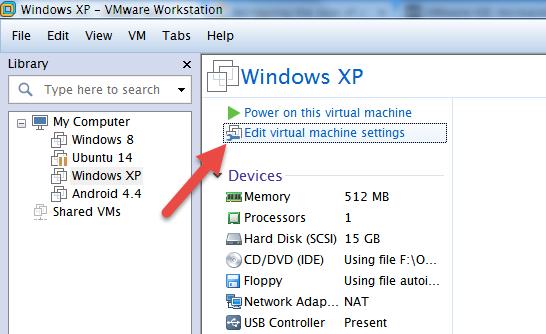 expand-vmware-disk-edit-machine-settings
